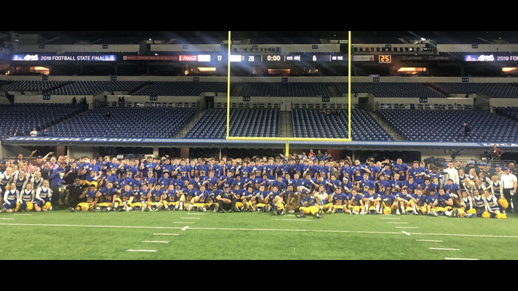 Carmel, Western Boone add to football trophy cases with state titles