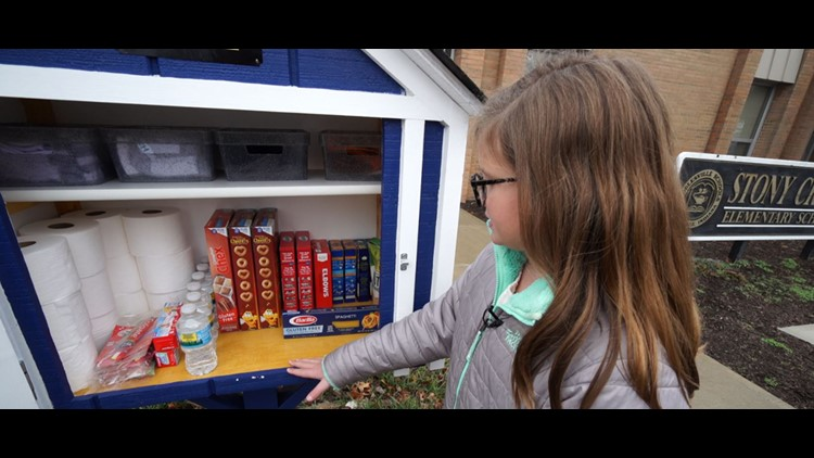 5th-graders give back in Noblesville, create 'Help House'