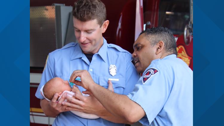 'Imminent delivery' | Indy first responders help mother give birth to baby girl