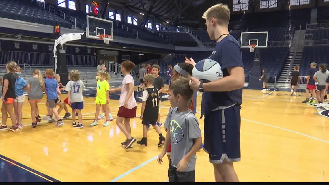 Butler Basketball hosts kids camp