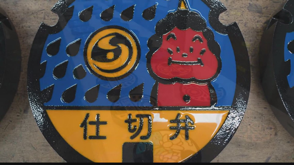 Tokyo manhole cover art is a national obsession