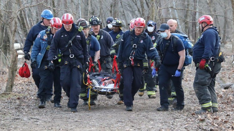 IFD rescues injured teenager near Holliday Park