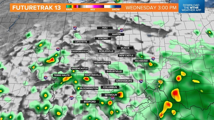 Live Doppler 13 Weather Blog: More showers and storms today