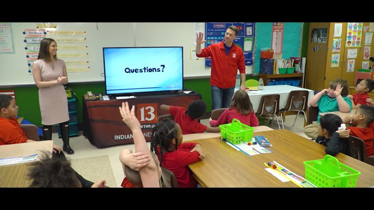13 Weather Academy meets students at Cold Spring School