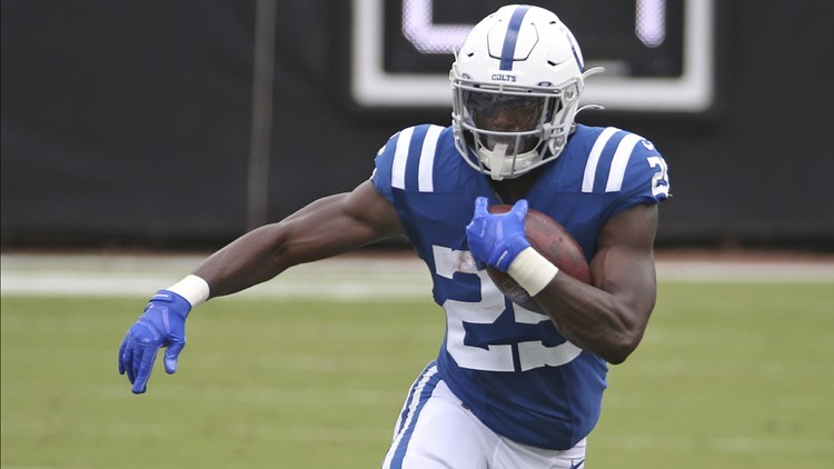 Report: Colts running back Marlon Mack and team agree to seek trade