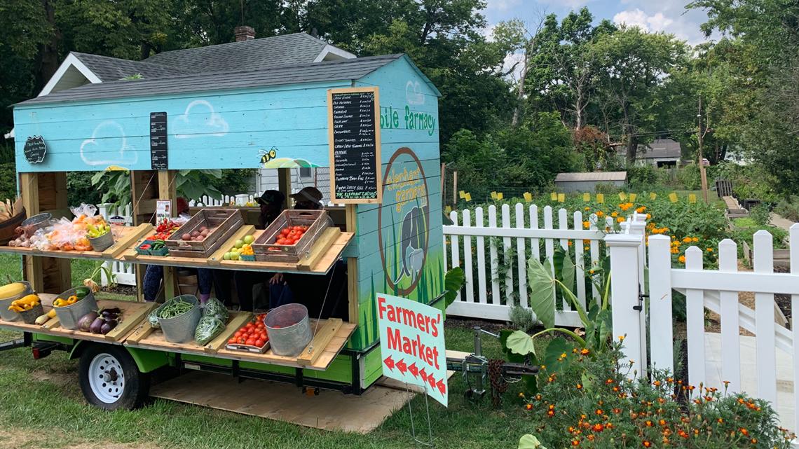 Elephant Gardens provides fresh organic produce on Indy's northeast side