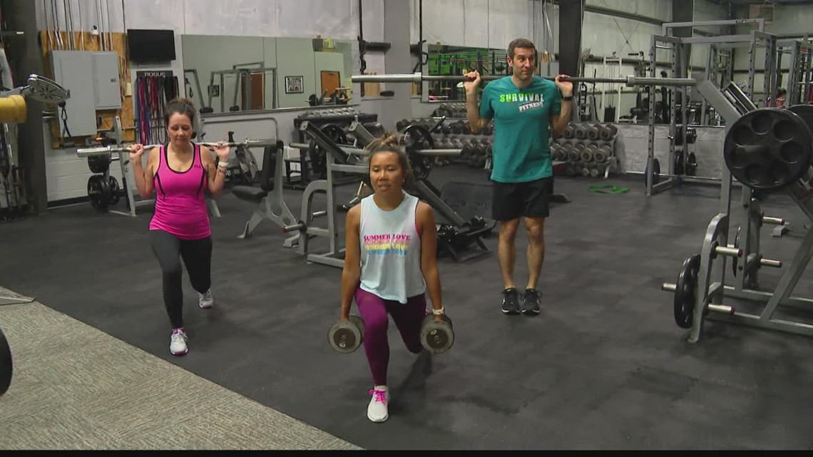 Friday Fit Tip: Creative lunges