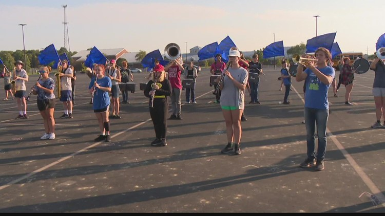 Operation Football Band of the Week: New Palestine High School