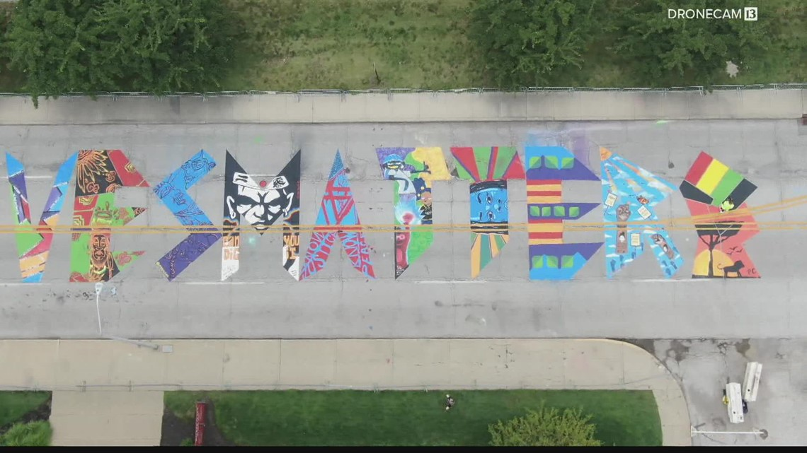 Section of Indiana Avenue that features Black Lives Matter mural set for paving