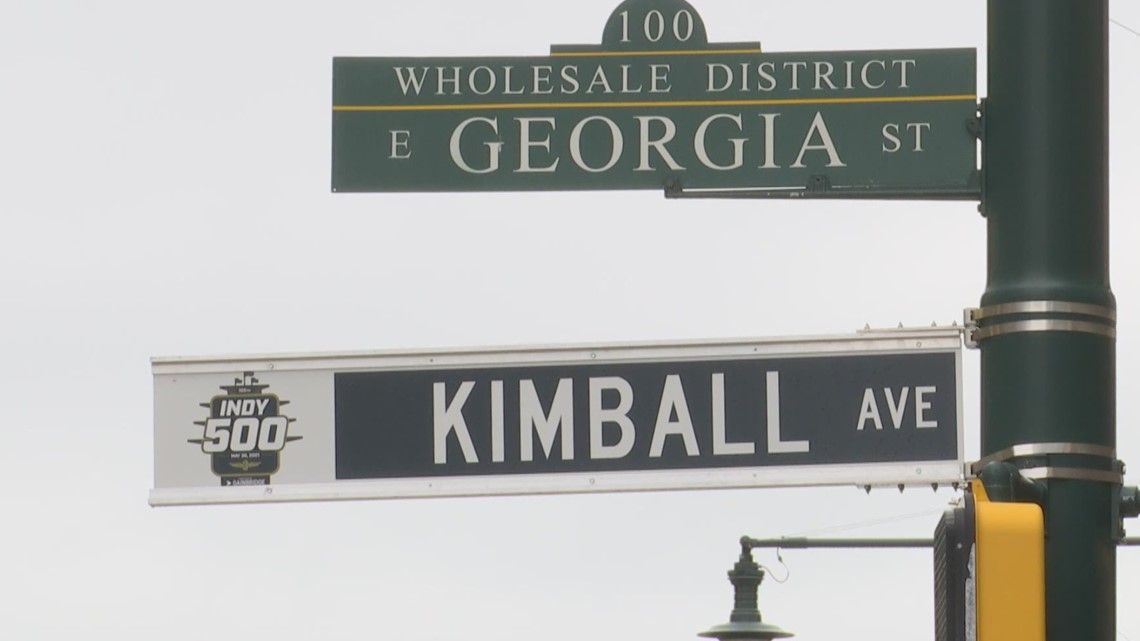 Downtown streets 'renamed' for IndyCar drivers