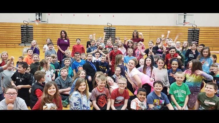 Weather Academy: Angela Buchman, Kelly Greene talk about hurricanes and tornadoes at Sugar Creek Elementary