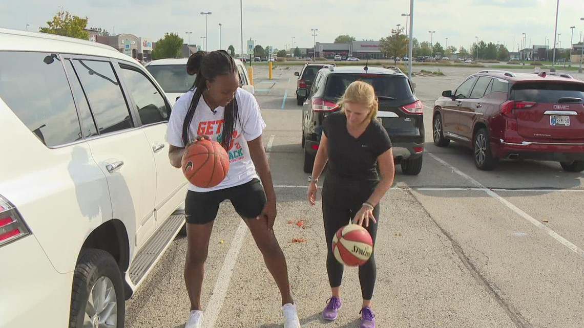 Friday Fit Tip: Dribbling tips with Tamika Catchings