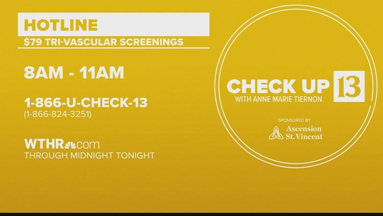 Check Up 13: Tri-vascular screen