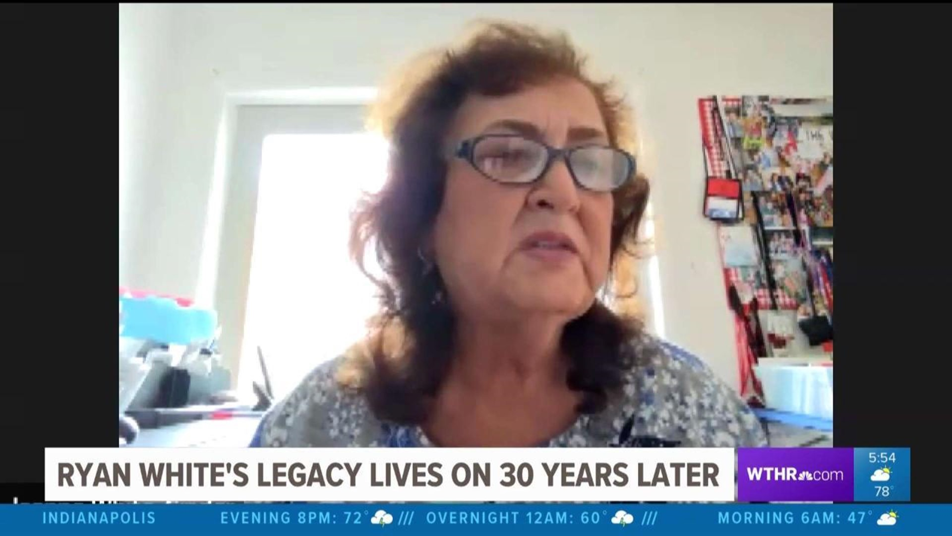 Ryan White S Mom Reflects On 30th Anniversary Of His Death Covid 19 Wthr Com