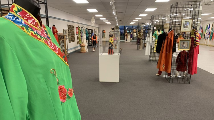 Indy's Global Village Welcome Center features cultures from all over the world