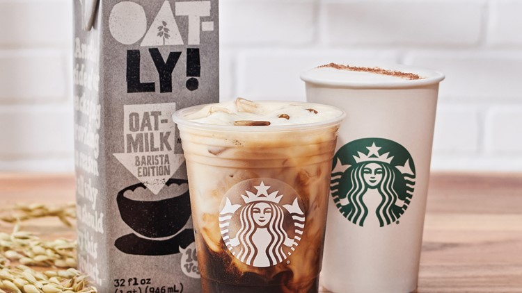 Starbucks offering oat milk option at stores nationwide