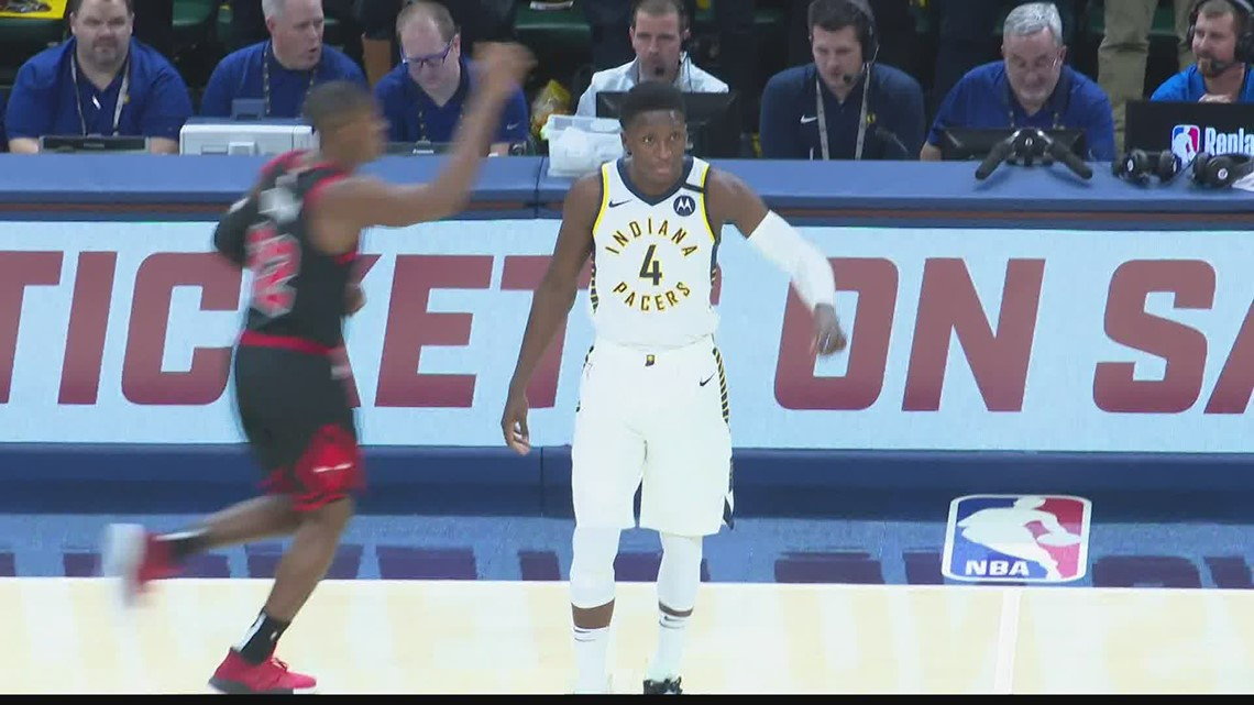 Pacers' Oladipo traded to Rockets