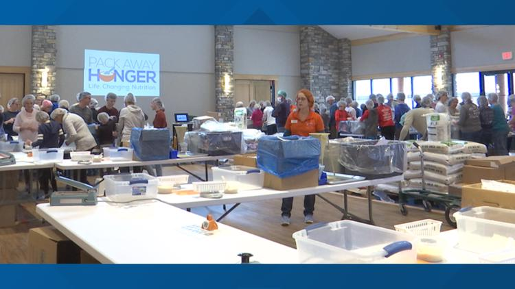 Volunteers needed to pack 50,000 meals on Black Friday for area food shelters