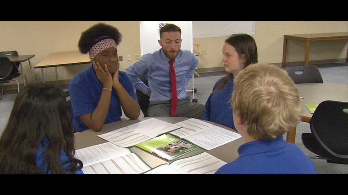 JA JobSpark helps 8th graders answer the 'what do you want to be' question