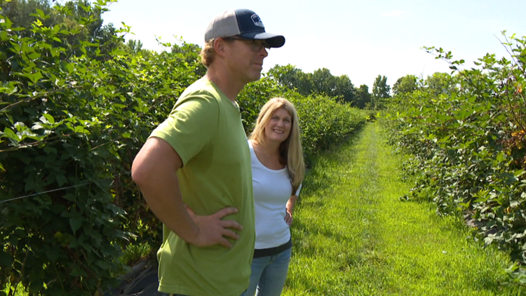 Best You: Couple thriving after following dream to Madison County blackberry farm