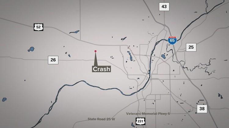 3-year-old boy killed in Tippecanoe County crash
