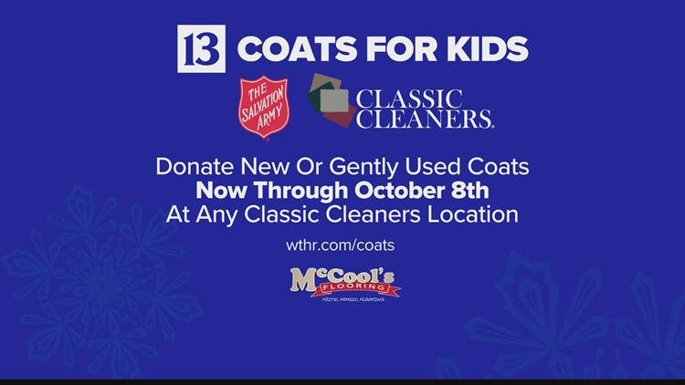 Coats for Kids collection at Sunday's Colts-Seahawks game