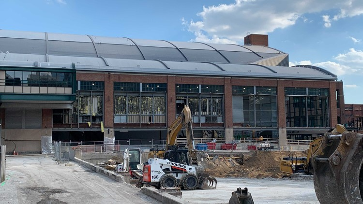 Want to see inside? | Bankers Life Fieldhouse closed for the summer for phase 2 of major renovations