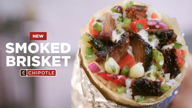 Chipotle adds brisket to US, Canada menus for limited time