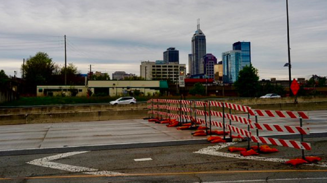 North Split closes for 18-months of construction