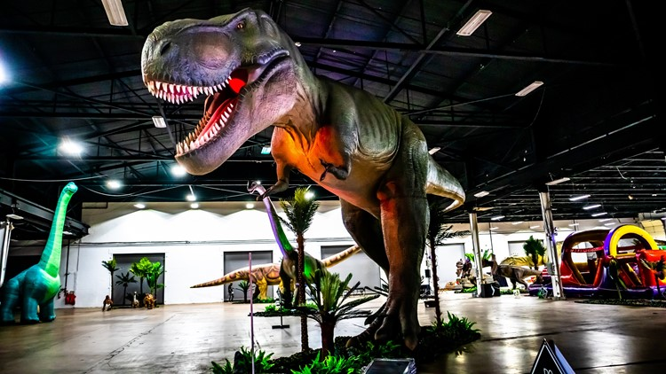 Dino Stroll coming to Indiana State Fairgrounds