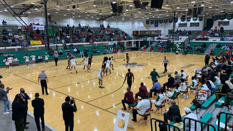 Packed gyms give way to social distancing as sectional basketball games begin anew