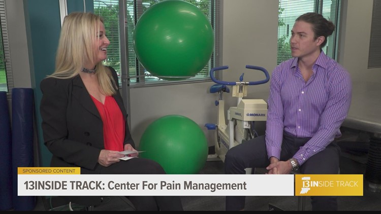 13INside Track learns how the Center for Pain Management treats spinal stenosis