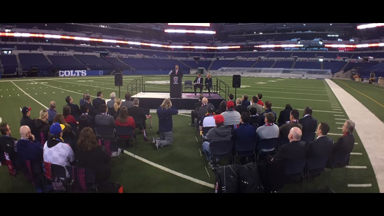 Indy Eleven will play at Lucas Oil Stadium this year