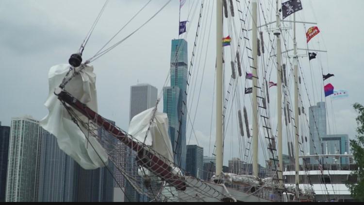Chuck's Big Adventure: Tall Ship Windy