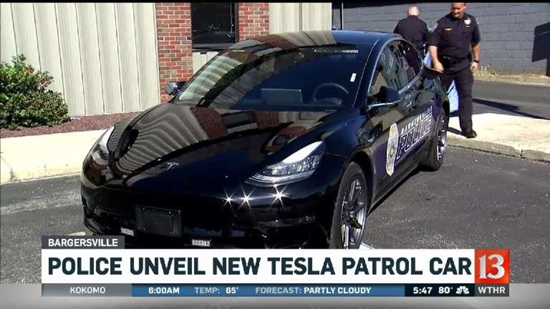 Bargersville's Tesla squad car is move to preserve tax ...