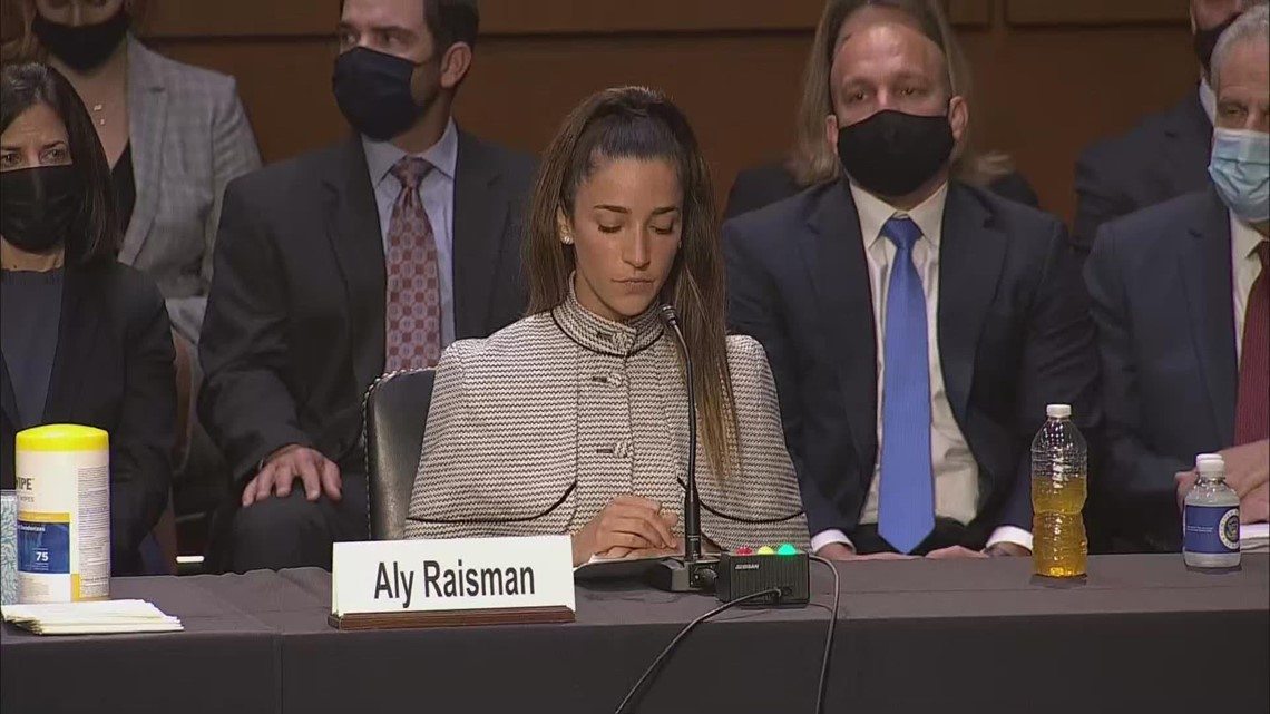 'It disgusts me we are still fighting for the most basic answers' | Aly Raisman outlines FBI's failure to properly investigate Nassar