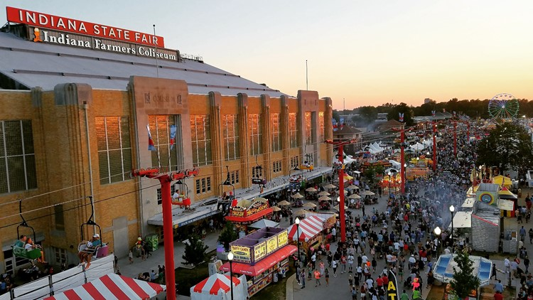 Remember, the Indiana State Fair is not open on Monday and Tuesday this year