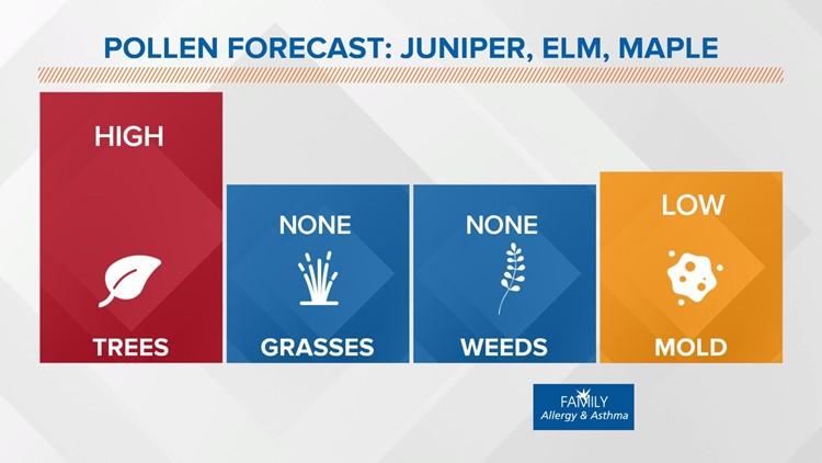 Live Doppler 13 Weather Blog: Allergy season is here