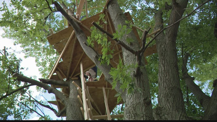 Chicago man reflects on asking Speedway homeowners to build treetop to watch Indy 500