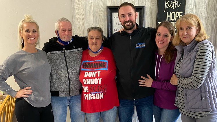 Family rallies resources to provide home to couple left on the streets