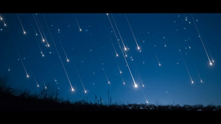 First Major Meteor Shower Of 2020 Will Peak Tonight Wthr Com