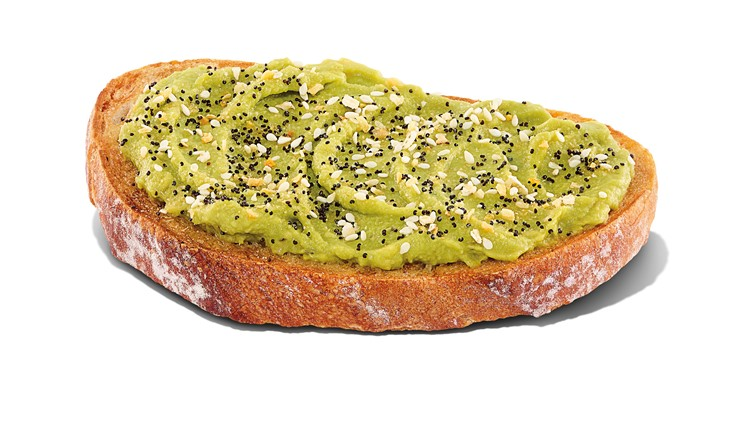 Dunkin' adds avocado toast, new sandwiches to menu