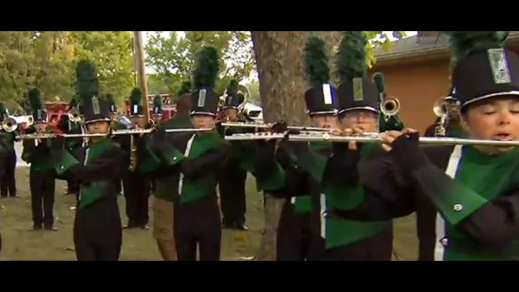 Operation Football Band of the Week: Pendleton Heights High School