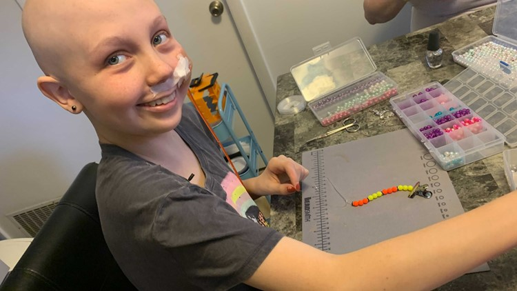 Hope's bracelets raise money to help other young patients