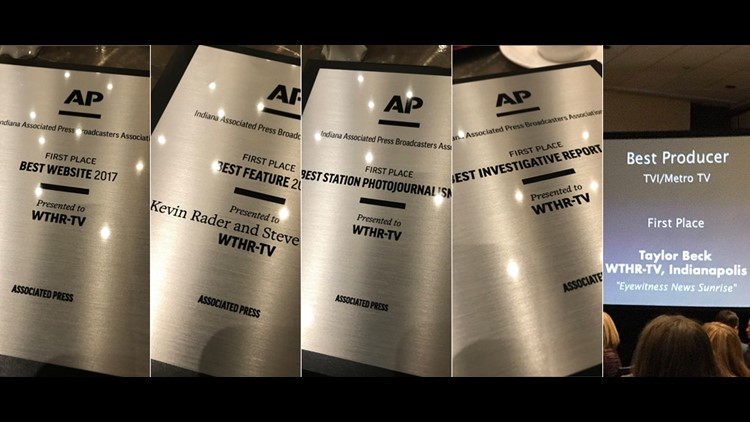 WTHR wins multiple Indiana AP Broadcasters awards