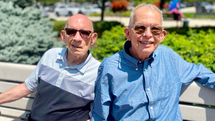 Rare implanted device gives brothers a change of heart