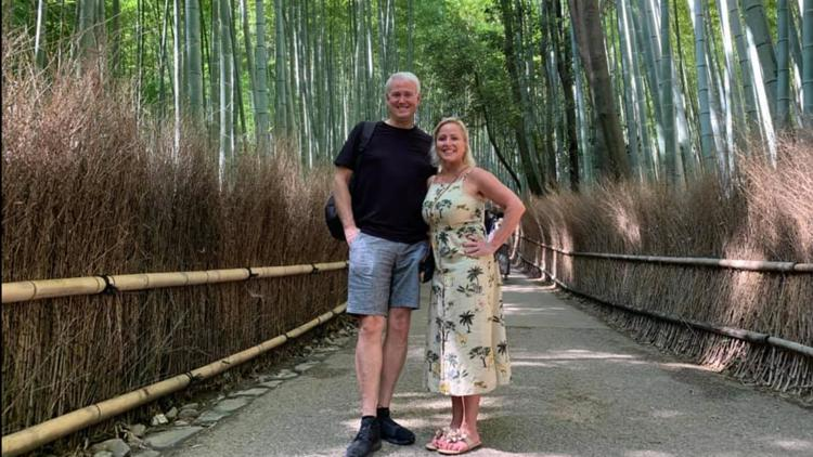 The bamboo forest in Kyoto, Japan is a can't miss for photographers