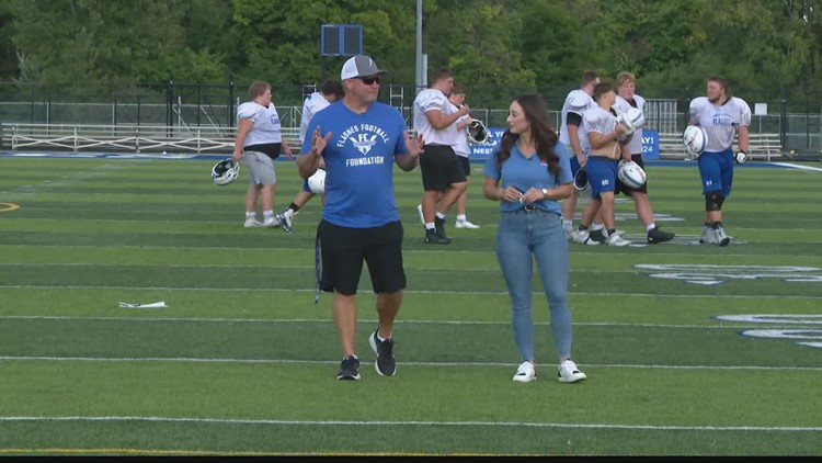 Operation Football 'Into the Red Zone': Franklin Central High School