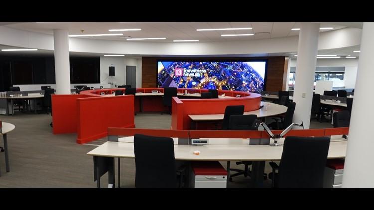 WTHR unveils new newsroom for Eyewitness News