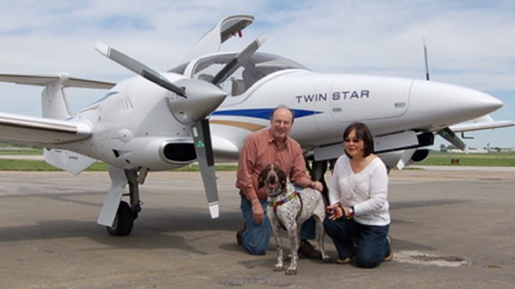Doctor's hobby: flying rescue pets to their forever homes